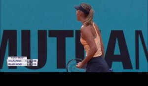 Madrid - Sharapova plus solide que Mladenovic