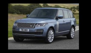 Reveal of the New Range Rover PHEV