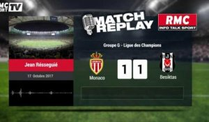 Monaco-Besiktas (1-2) : Le Match Replay avec le son de RMC Sport