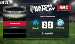 Marseille - Strasbourg (3-3) : le Match Replay avec le son RMCSPORT