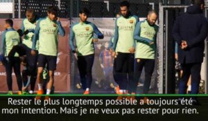 Transferts - Iniesta : ''Rester au Barça le plus longtemps possible''