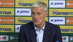"FOOTBALL: International: Bleus - Deschamps : ""On a eu plus de mal après la sortie de Kanté''"