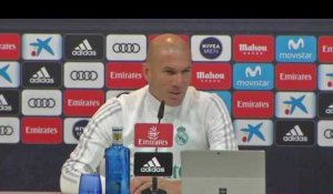 16e - Zidane (en retard) : ''J'ai envie de rester le plus longtemps possible''