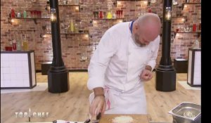 Philippe Etchebest se coupe le doigt (Top Chef) - ZAPPING PEOPLE DU 08/03/2018