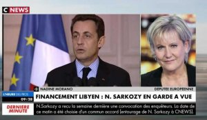 Nadine Morano s'énerve contre Pascal Praud en direct sur CNEWS