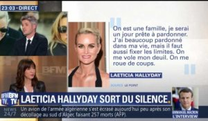 Laeticia sort de son silence (4/4)