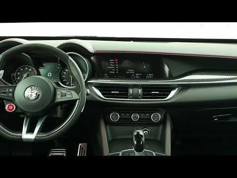 2018 Alfa Romeo Stelvio Quadrifoglio Interior Design Sur Orange Videos