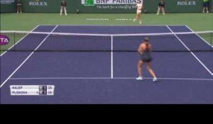 Indian Wells - Halep passe sans trembler