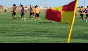 Foot: l'Irak accueille son premier match international en 20 ans
