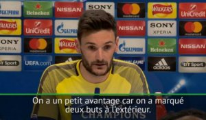 "8es - Lloris : ""On a un petit avantage mais tout est possible"""