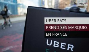 Uber Eats prend ses marques en France