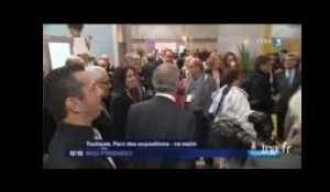 Sylvia Pinel au salon du tourisme