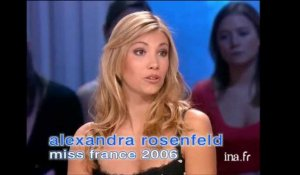 Interview d'Alexandra Rosenfeld, Miss France 2006