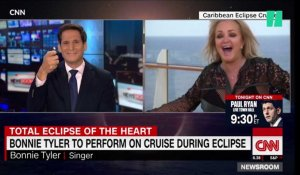 "Pour l'éclipse solaire, Bonnie Tyler reprend du service avec son tube ""Total eclipse of the heart"""