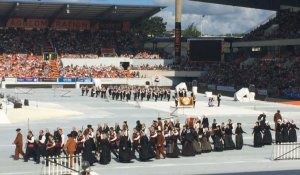 Grandeur parade des nations celtes