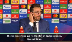 "Groupe G - Di Francesco : ""Modric mérite le Ballon d'Or"""