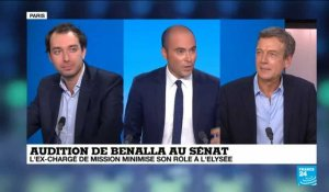 Audition de Benalla au Senat