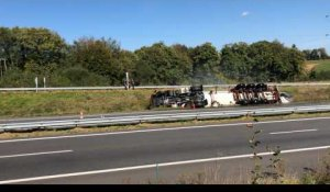 Loperhet. Accident sur la Rn 165