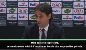 "FOOTBALL : Ligue Europa : Groupe H - Inzaghi : ""Ce match restera dans l'histoire du club"""