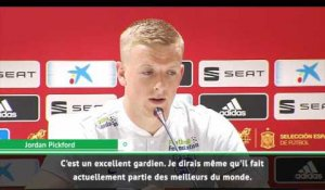 "International - Pickford : ""Je respecte énormément De Gea"""