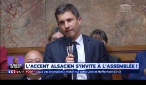 L'accent alsacien s'invite à l'Assemblée nationale