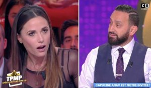 Capucine Anav vexée par Cyril Hanouna (TPMP) - ZAPPING PEOPLE DU 09/10/2018