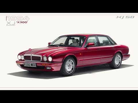 Jaguar Xj 50 Years Morphing Evolution Film Sur Orange Videos