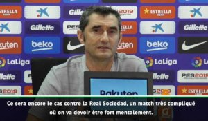 "Barcelone - Valverde : ""On attend le meilleur de Messi"""