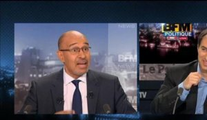 BFM Politique: l'interview d'Harlem Désir par Emmanuel Berretta du Point - 02/06