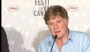 All Is Lost : Conférence de presse avec Robert Redford - 22/05