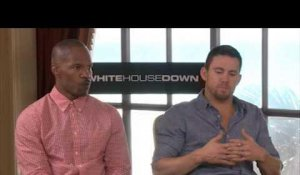 White House Down: White House Down: Interview de Channing Tatum et Jamie Foxx
