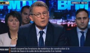 BFM Politique: L'interview de Vincent Peillon par Apolline de Malherbe -– 13/10 1/7