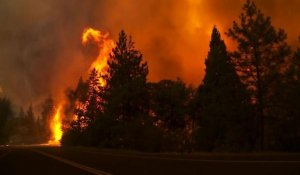 Etats-Unis: un feu menace la parc naturel de Yosemite