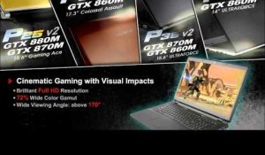GIGABYTE Gaming Laptops with NVIDIA GTX 800M Series Graphics ??GTX 800M??????