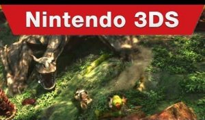Nintendo 3DS - Monster Hunter 4 Ultimate E3 Trailer