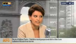 Bourdin Direct :  Najat Vallaud-Belkacem - 21/05