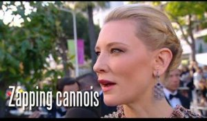 Cate Blanchett sur les Marches - Zapping cannois