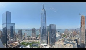 La construction en acceléré du One World Trade Center