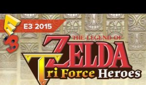 The Legend of Zelda : Tri Force Heroes - Bande-annonce (E3 2015)