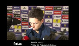 Ukraine - France. Nasri : « On aura un esprit de revanche »