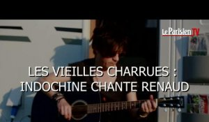 Les Vieilles Charrues : Indochine chante Renaud