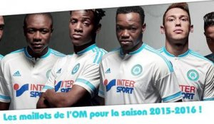 OM : Maillots saison 2015-2016