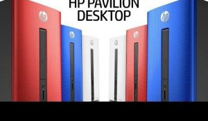HP Pavilion Desktop Official First Look