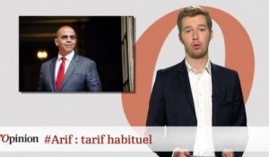 #tweetclash : #Arif : tarif habituel