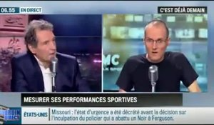 La chronique d'Anthony Morel : D-Shirt : le tee-shirt qui mesure vos perfomances sportives - 18/11