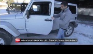 Comparatif Jeep Wrangler / Land Rover Defender (Emission Turbo du 06/02/2011)