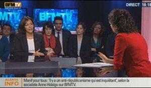 BFM Politique: L'interview d'Anne Hidalgo par Apolline de Malherbe - 02/02 1/6