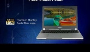 "GIGABYTE 15.6"" Ultra Slim Laptop U35F - Exceed The Limits ????"
