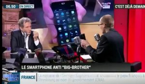 La chronique d'Anthony Morel : Blackphone, le smartphone anti-Big Brother - 25/11