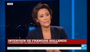 Interview de François Hollande : le chef de l'État s'exprime sur France 24 - RFI - TV5 Monde (partie 2)
